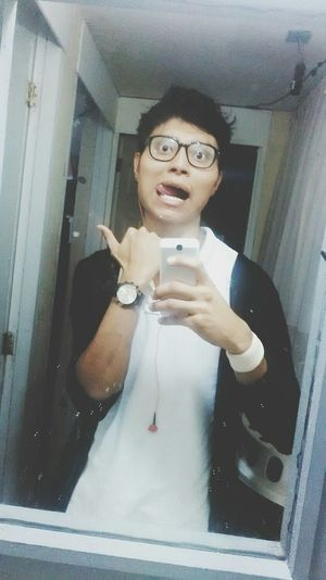 Glasses & Black And White