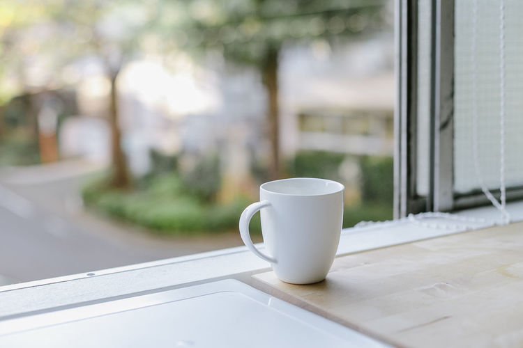 coffee cup on a