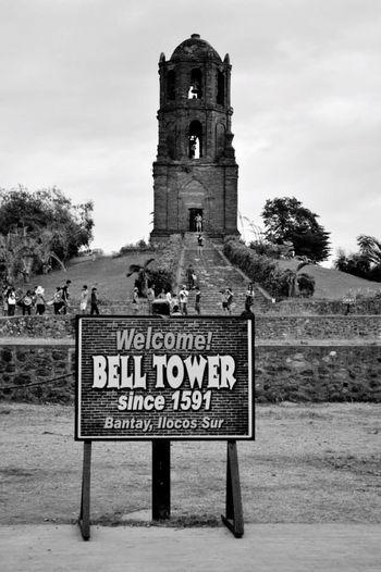 Bell Tower Bantay Bell Tower Ilocos Sur Travel Historical Building EyeEm Best Shots Blackandwhite