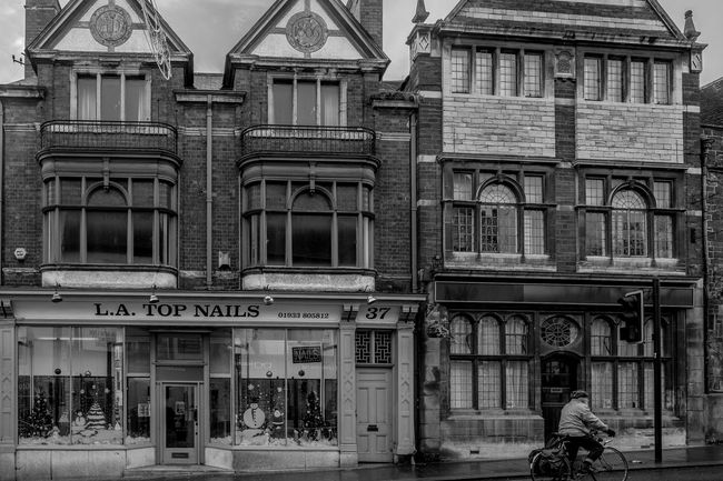 The House that Jack Built, Sheep Street, Wellingborough, Northamptonshire Street Wellingborough Black And White Urban FUJIFILM X-T2 Town Monochrome Northamptonshire Monochrome Photography Architecture