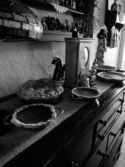Happy Thanksgiving Whats For Dinner? What I Ate Pies Dessert Porn Dessert Time! Dessertoftheday Black And White Black And White Photography My Monochrome World