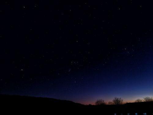 Orion csillagkép.