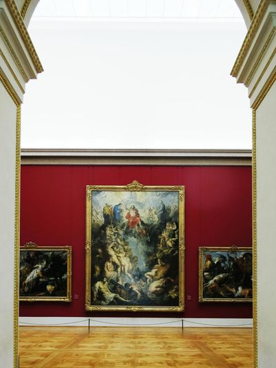 The Last Judgement by Rubens in the Alte Pinakothek in München Germany Art ArtWork Old Masters Museum Architecture Architecture_collection Fine Art Photography Architectural Detail Architectural Feature
