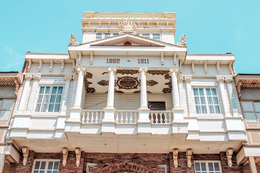Replica of a Heritage structure. Architecture Building Exterior Built Structure Travel Destinations Day EyeEm Best Shots EyeEmNewHere Eye4photography  EyeEm Gallery Lascasasfilipinasdeacuzar Philippines Lascasasfilipinas Heritage Heritagebuilding