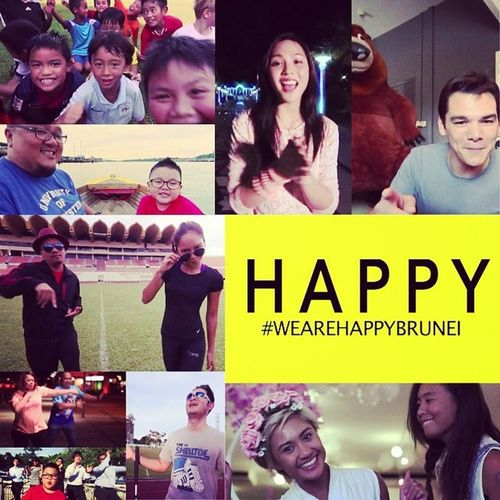 Have an awesome week ahead Brunei ! Have you seen the Wearehappybrunei clip? Awesomeness HappyBrunei happybn schoolholidays happeningsbn