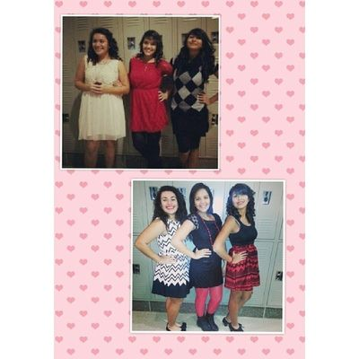 TransformationTuesday oh Sophomore year Christmas concert & Junior year Christmas concert ♡