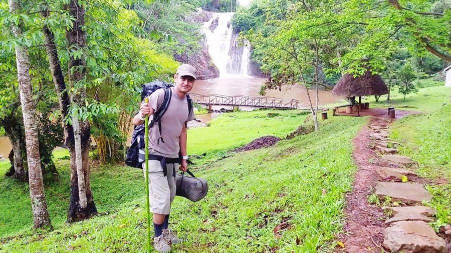 Tour To Africa Tourist Africa Uganda  Fall Visitor Tourists Tour Tourism Traveling