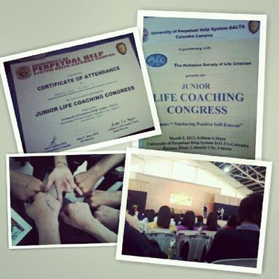 The first life coaching congress in the Philippines. @uphsd-calamba Engineering 2ndSem Uphsd Goodevening  March BirthMonth Godbless