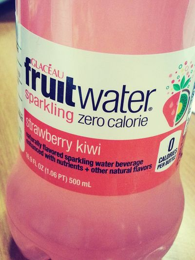 Favorite drink right now! Fruit Water Strawberry & Kiwi