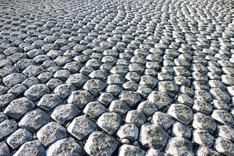 Background Dike Ground Maasvlakte Stone Pavement Stones