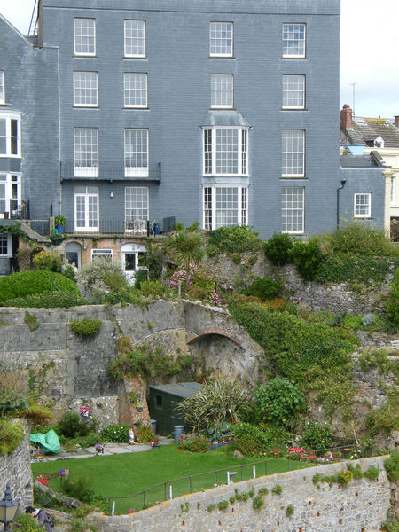 Architecture Building Exterior Built Structure City Day Grass Ivy Modern Architecture Nature No People Outdoors Pembrokeshire Pembrokeshire Coast Pembrokeshire Coastal Path Plant Seaside Seaside Town Tenby Tree Terrace Garden