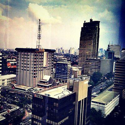 Hutan beton ataukah lautan beton? Photodroid  Hd2 Jakarta I_hate_jakarta