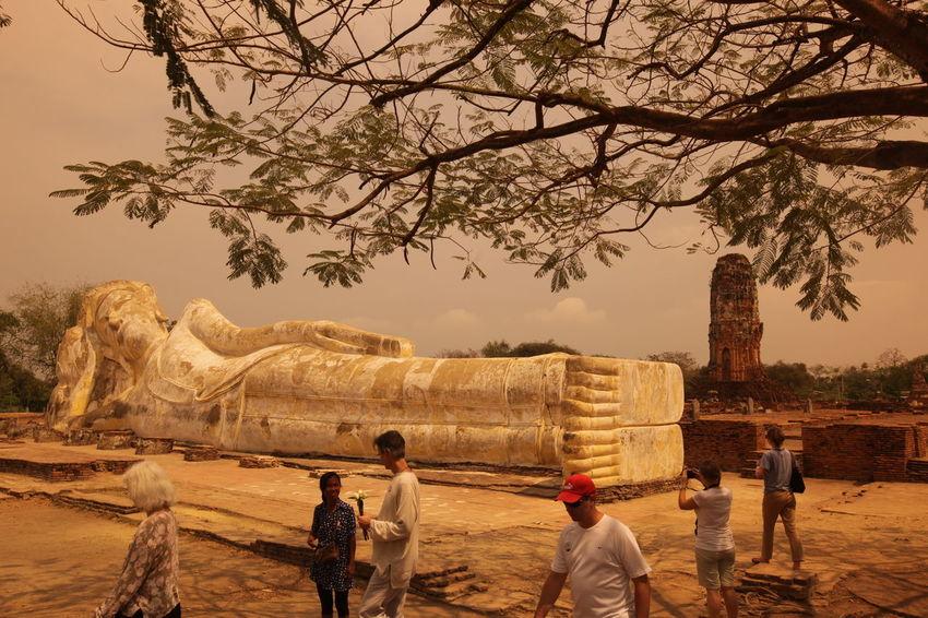Travel Waterdrops ASIA Ayuthaya Ayutthaya Landmark Ruin Southeastasia Temple Thai Thailand