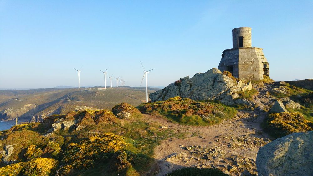 Wind Power Wind Turbine Alternative Energy Environmental Conservation Fuel And Power Generation Business Finance And Industry Renewable Energy Industry Electricity  No People Built Structure Technology Outdoors Day Sky Nature Galicia, Spain Galicia SPAIN