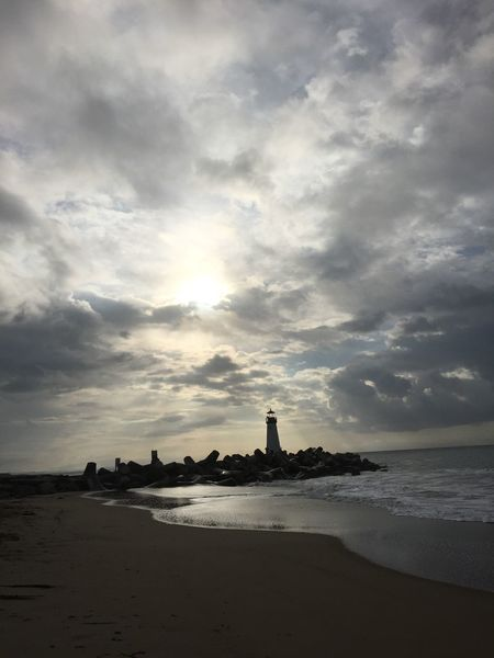 Walton Lighthouse 2 Atmospheric Mood Awe Beach Beachphotography Cloud Cloud - Sky Cloudscape Cloudy Dramatic Sky Horizon Over Water Lighthouse Majestic Moody Sky Outdoors Power In Nature Scenics Sea Sea And Sky Sky Storm Cloud Sun Sunrise Sunset Tranquil Scene Weather