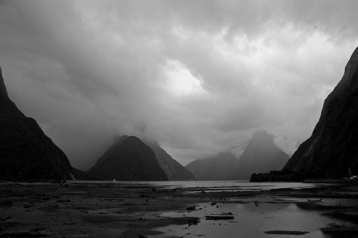 After The Rain Clouds And Sky Fjords Meditation Place Mountains And Sky Nature NZ Rain Silent Tranquille