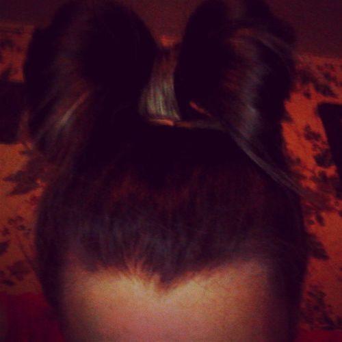 Hairbow !<3 Hair Updo Cute loveit