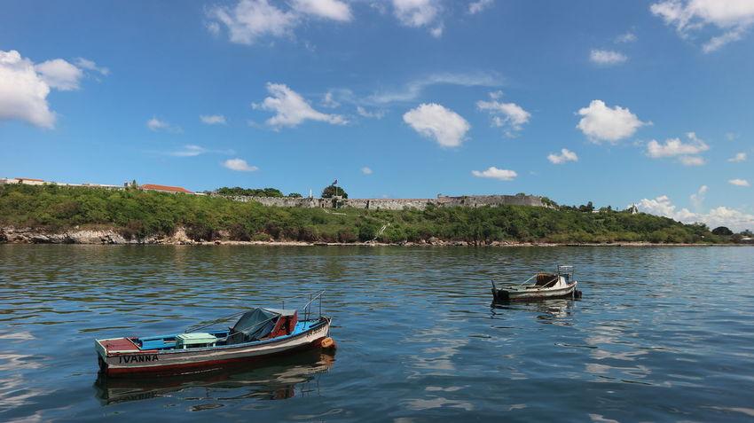 Cuba Habana Habana Vieja Havana Havana, Cuba Transportation Travel Traveling Travelling Boats Destination Havana Vieja Landscape Ocean Sea Trips Море америка гавана куба лодки океан пейзаж путешествия старая гавана