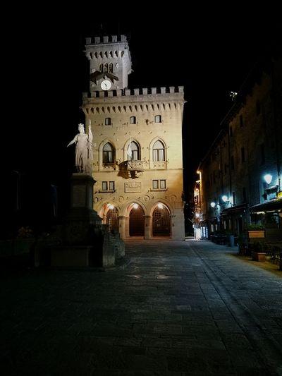 Clock Tower Night Illuminated Travel Destinations Architecture No People Clock First Eyeem Photo