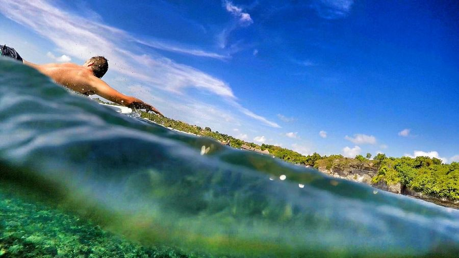 Killing the waves. Surfing Surf Bali INDONESIA Water Traveling ASIA First Eyeem Photo