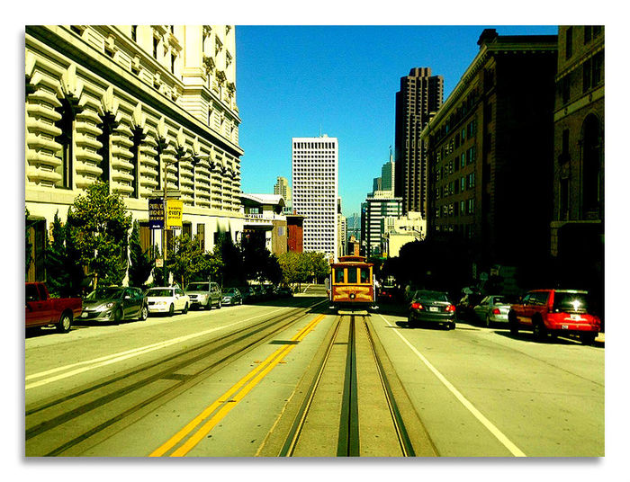 Looking Into The Future Hello World Global EyeEm Adventure - San Francisco San Francisco Slopingroad Sloping Road Tramway Tram Tramtweet Check This Out Eyem Best Shots