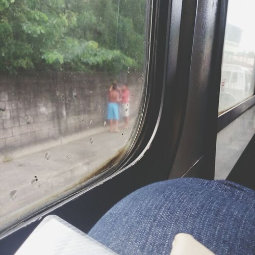 Pela janela do onibus