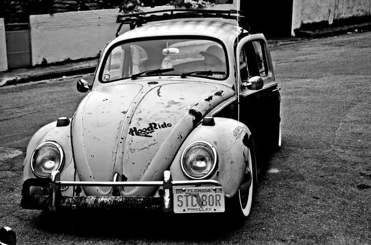 Fusca VW Ratlook