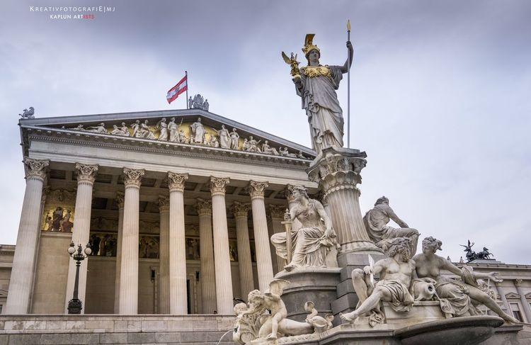 House of Parliament, Vienna Vienna Parlament House Of Parliament Austria Parliament Kreativfotografie Mj Travel With Mj Architecture Architecture_collection Architectural Detail Architecturelovers Travel Travel Photography Exploring Europe Sony Sonyalpha A6000 Alphaddicted EyeEm Best Shots EyeEm 2016