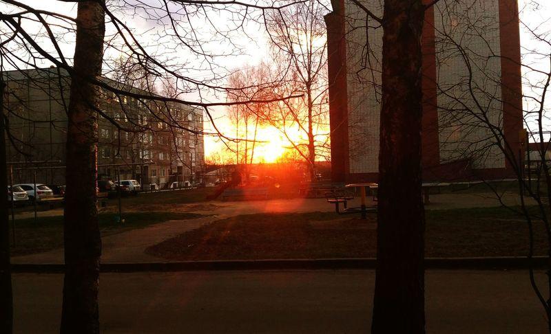 закат🌇 природароссии Природа солнцесадится First Eyeem Photo
