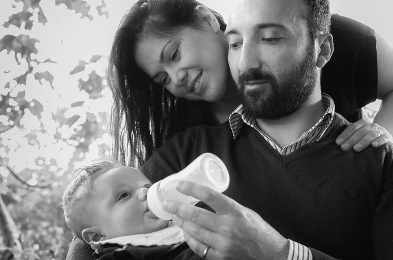 Black Black And White Blackandwhite Cute Day Family Family Happiness Lifestyles Person Portrait The Portraitist - 2016 EyeEm Awards This Is Family