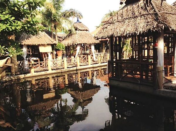 fresh Reflection Water Building Exterior Built Structure Outdoors Tradition Architecture Travel Destinations No People Day