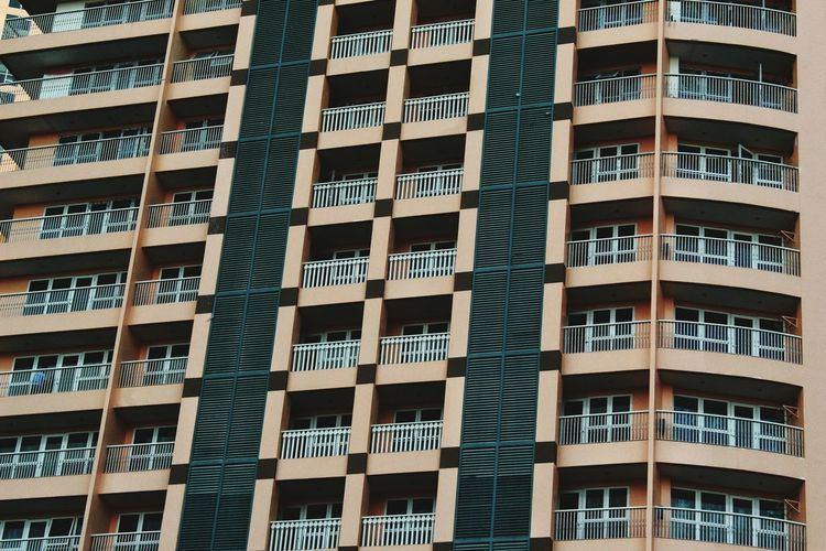 Building Exterior Architecture Built Structure Window Full Frame Outdoors Apartment City Residential Building No People Balcony Low Angle View Day Lotus Flower Eyeem Philippines