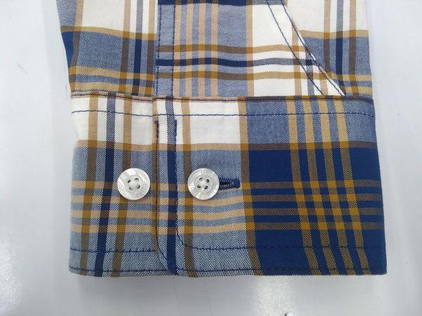 how to make shirt Cotton Fashion Fashion Photography Fashion Industry Shirt Button Down Shirt Garment Design Garment Factory How To Measure Cuffs Cuff Studio Shot Close-up Sewing Tailor Stitching Needlecraft Product Fashion Designer Button Plaid