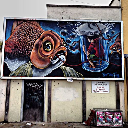 Street Art Streetart Graffiti Silenthobo m
