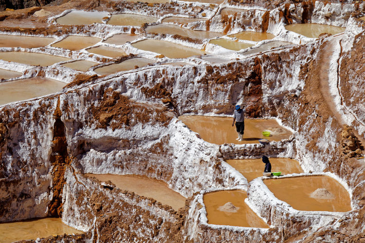 Salineras de Maras Cusco Maras Salineras Salineras De Maras Salt Salt Deposits Salt Of Maras Salt Pools Working Working Hard