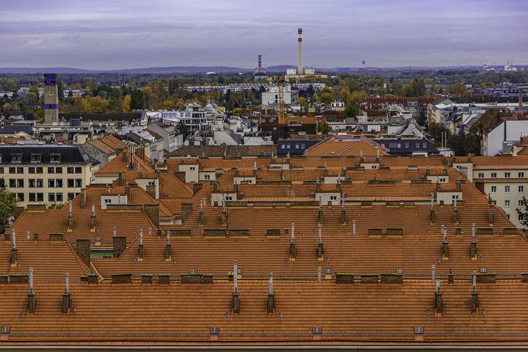 Rooftops in