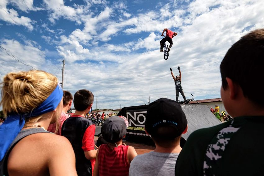 Nowear BMX Team Nebraska State Fair September 1, 2018 Grand Island, Nebraska Camera Work Check This Out EyeEm Best Shots FUJIFILM X-T1 Fujinon 10-24mm F4 Getty Images Grand Island, Nebraska Nebraska State Fair NowearBMX Photojournalism Action Action Shot  Adult Bicycle Bmx  Bmx Cycling Cloud - Sky Crowd Day Events Extreme Sports Eye For Photography Freestyle Group Of People Headshot Incidental People Jumping Leisure Activity Lifestyles Men Mid-air Nature Outdoors People Real People S.ramos September 2018 Series Sky Sport Transportation Water Women