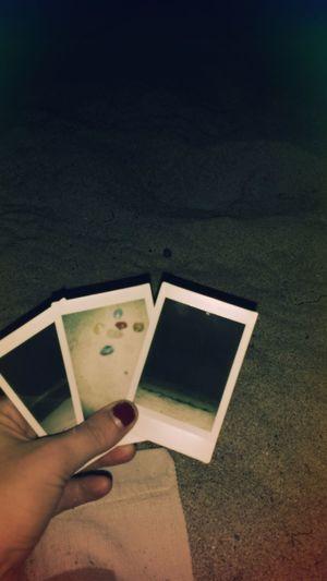 Beach At Night Polaroids