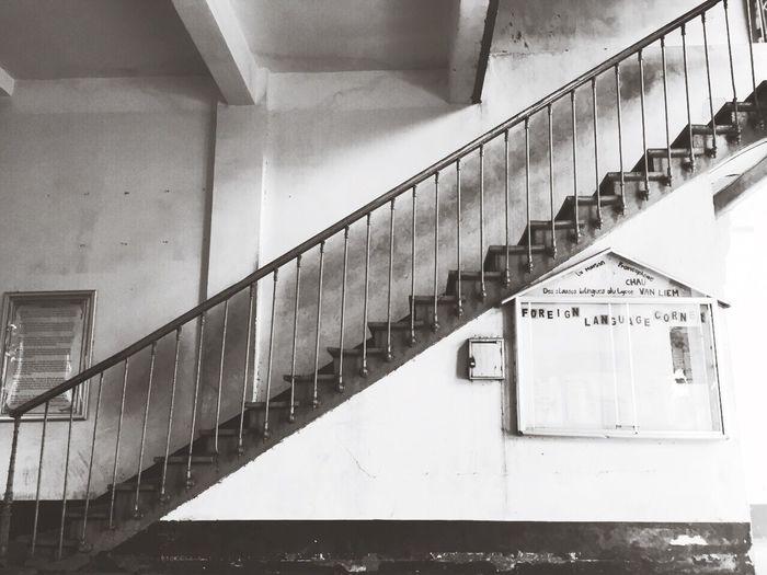 Stairways Indochine Chauvanliemhighschool Silent Moment Interior Design Highschool Vietnam FrenchDesign