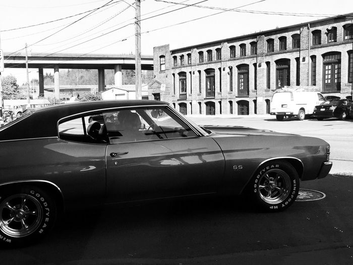 Georgetown Cars Black & White