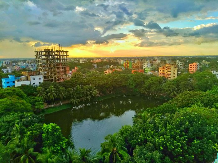 sunset at busy city Sad Mood Alone Time Lonely Person Lonely Life Busy City Street Dream Life Sunset Lovers Single Person Bangladesh Water Sunset Lake City Reflection Sky Architecture Building Exterior Built Structure Cloud - Sky