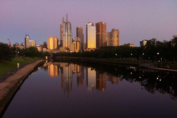 Yarra River Melbourne. Yarra River Yarra Melbourne Melbourne City Cityscapes Water Sunrise