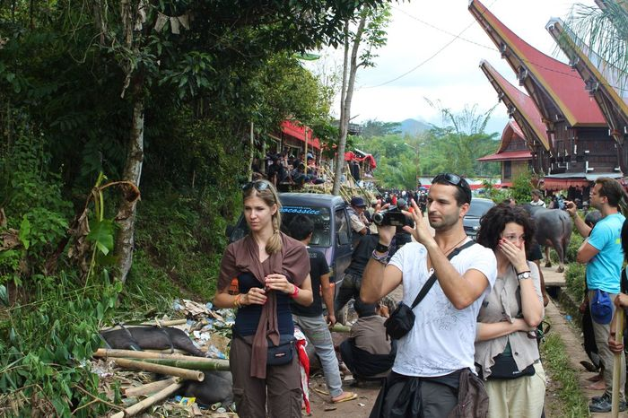 Ritual Tana Toraja Adult Ceremony Crowd Day Funeral Ceremony Large Group Of People Nature Outdoors People Real People Sky Togetherness Tree Women Young Adult Young Women Rantapeo
