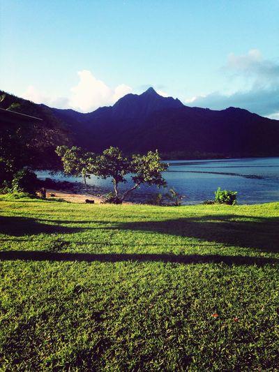 What Does Peace Look Like To You? Bueatiful peaceful island of Samoa