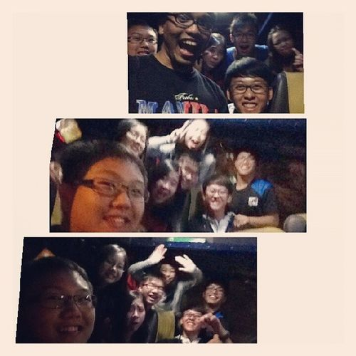 Hahahah! Awesome bus times from PLMGS! With The Crew Theletter musical! 