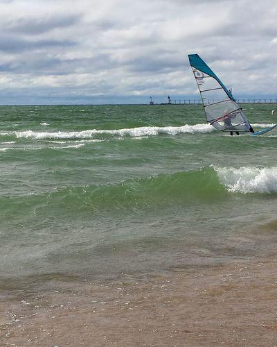 Lake Michigan St. Joseph, Michigan Parasailing Boats⛵️ Michigan