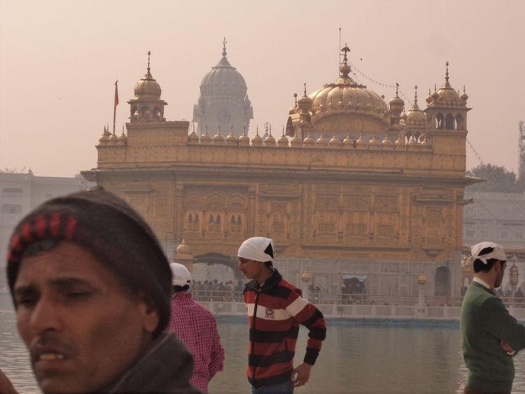 Amritsar Golden Golden Temple India Punjab Tour Tourism