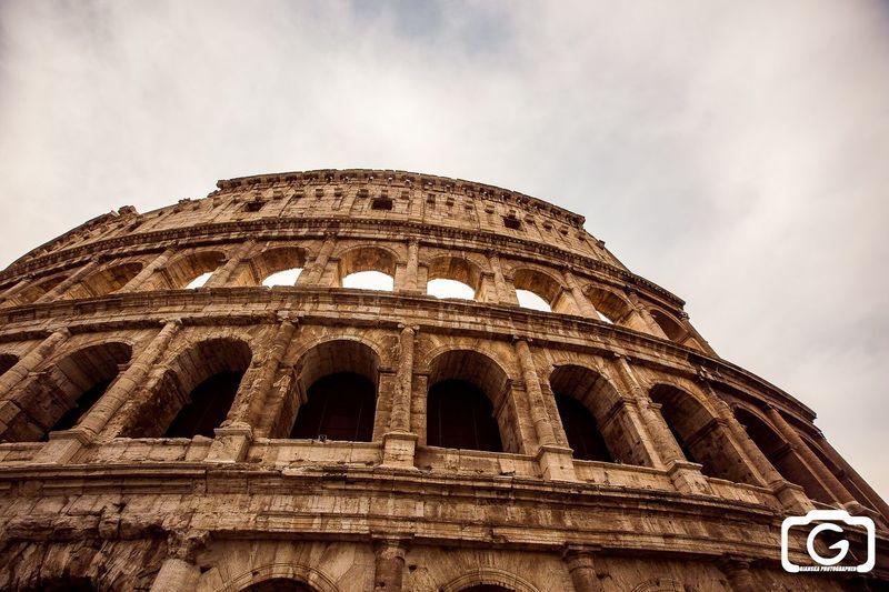 Rome Colosseum Monuments Enjoying Life