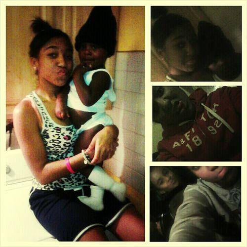 - We was Mthuggin out heaaaa !! :*