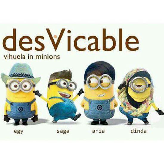 Papoy?! Baaah!!! *repost from @andikasaga Minion  Despicableme Pixar  Desvicableme vihuela lol instacableme instagood